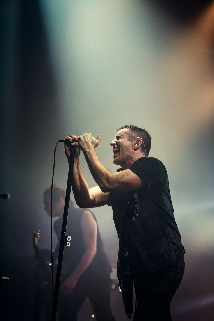 Nine Inch Nails en directo. Fuente: www.pinterest.com