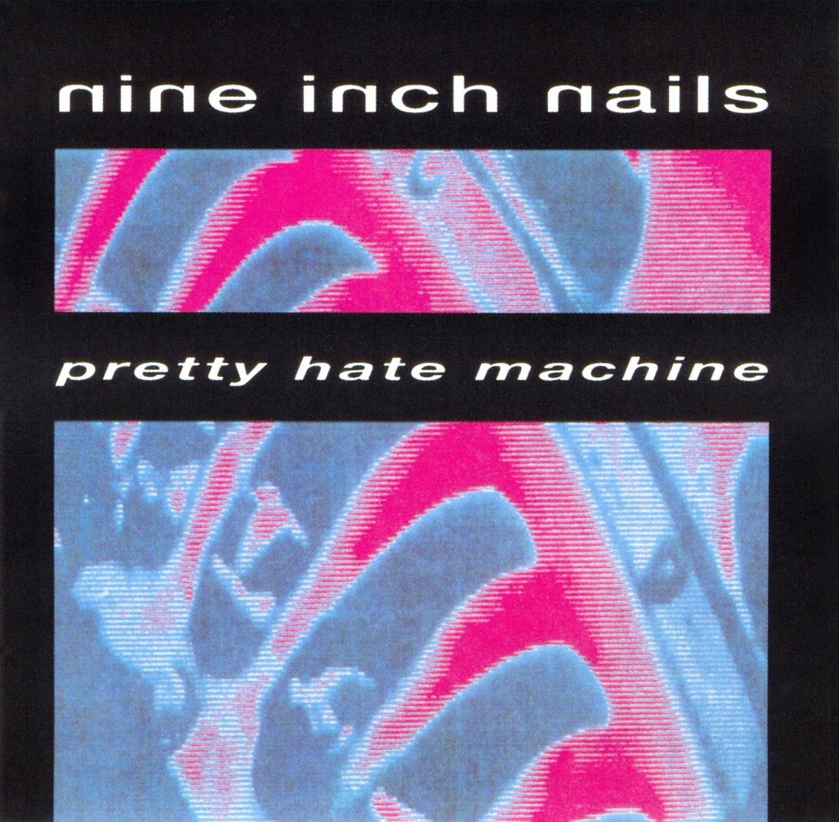 "Artwork de su primer álbum ""Pretty Hate Machine"". Fuente: http://trent-reznor.narod.ru"