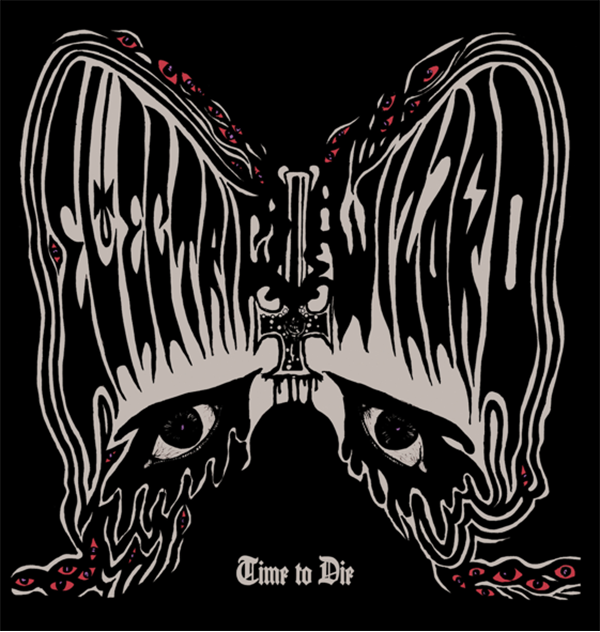 "Portada del próximo disco de Electric Wizard, ""Time to Die"""