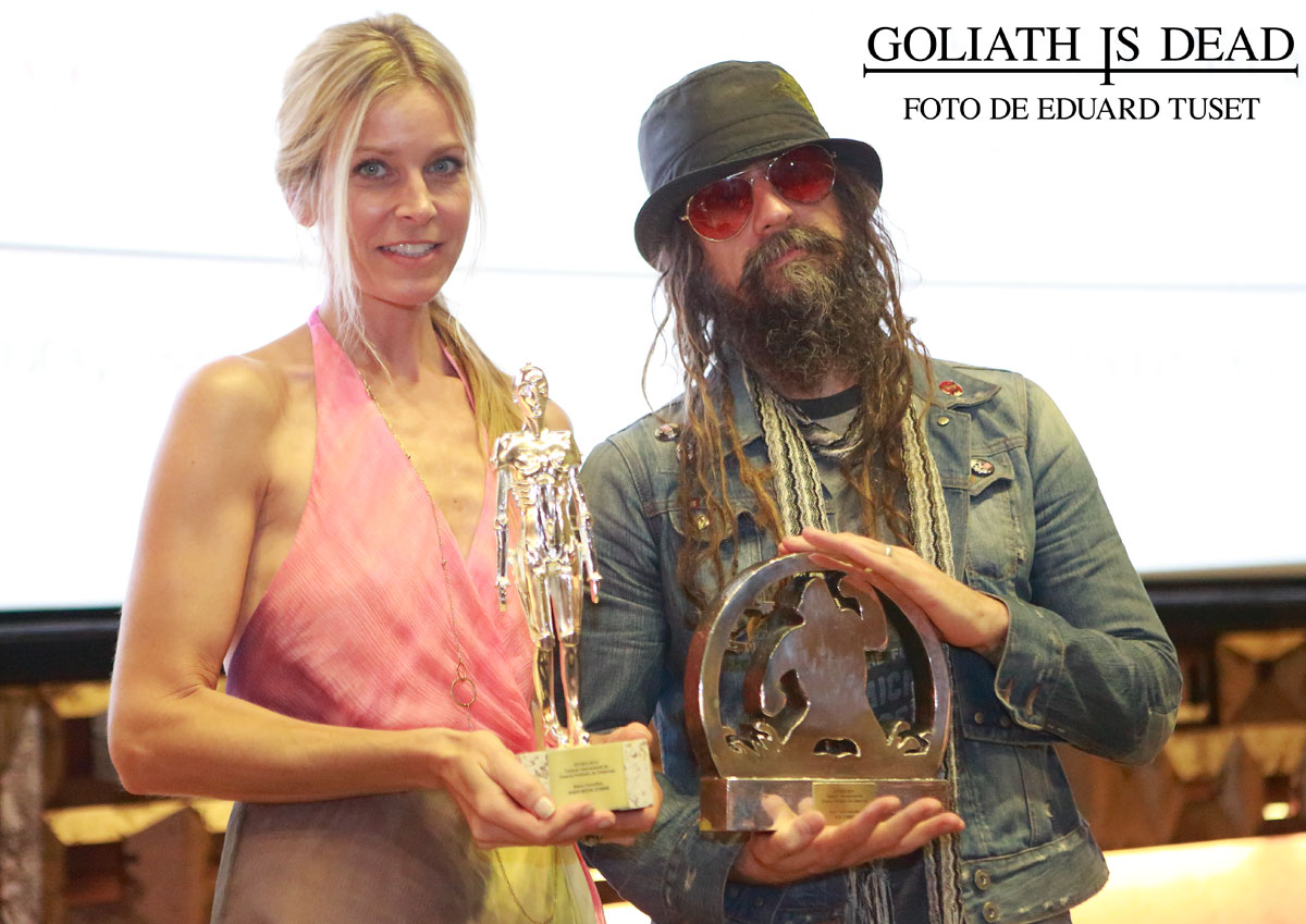 That's something rob zombie and sheri moon zombie