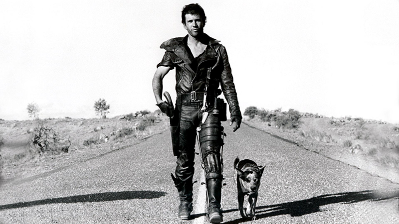 "Mel Gibson en ""Mad Max 2. The Road Warrior"". Fuente: www.altafidelidad.org"