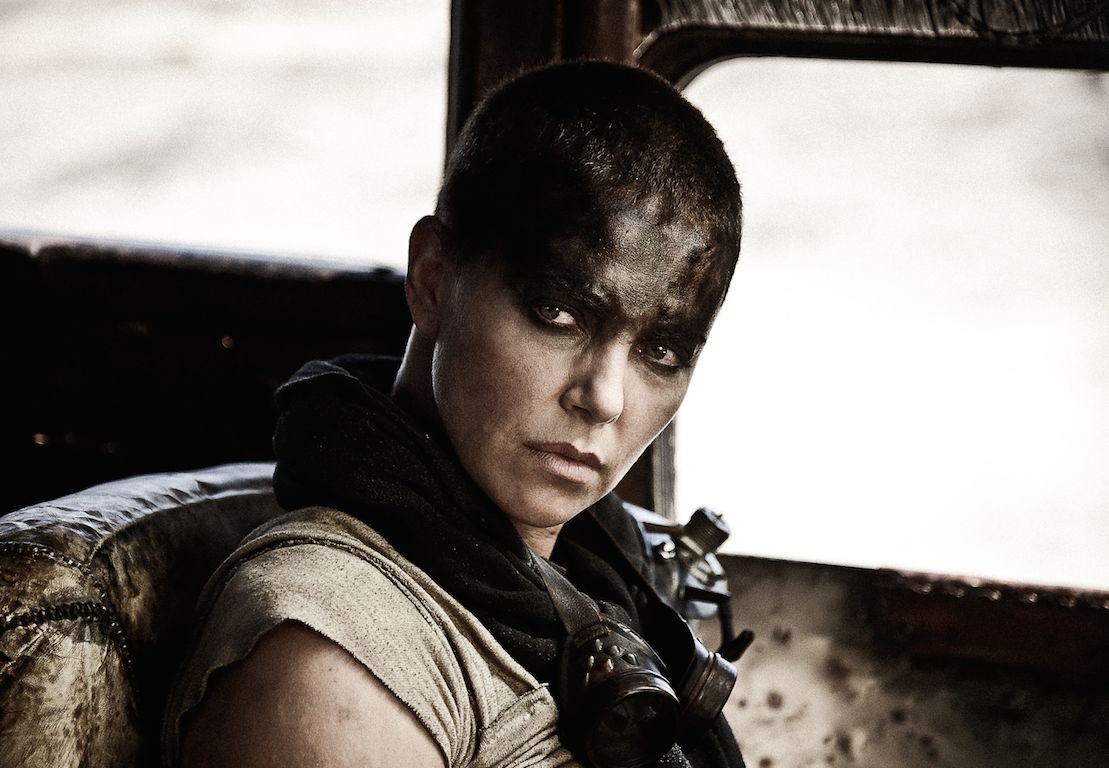Carlize Theron en Mad Max: Fury Road