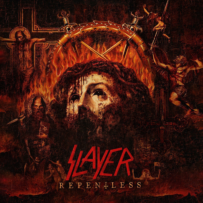 Portada de 'Repentless', nuevo disco de Slayer.