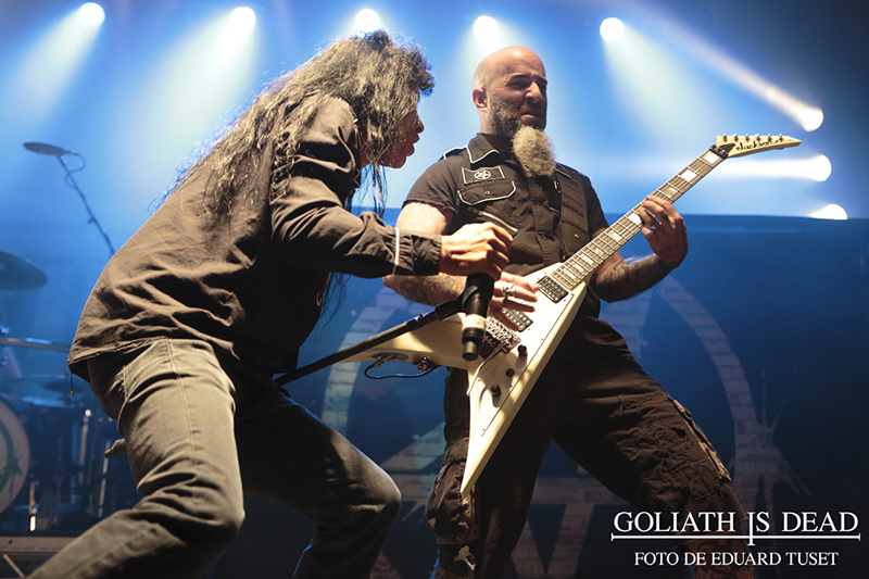Anthrax en Razzmatazz (Barcelona).