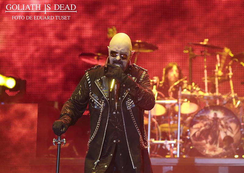 Rob Halford de Judas Priest en el Rock Fest Bcn 2015