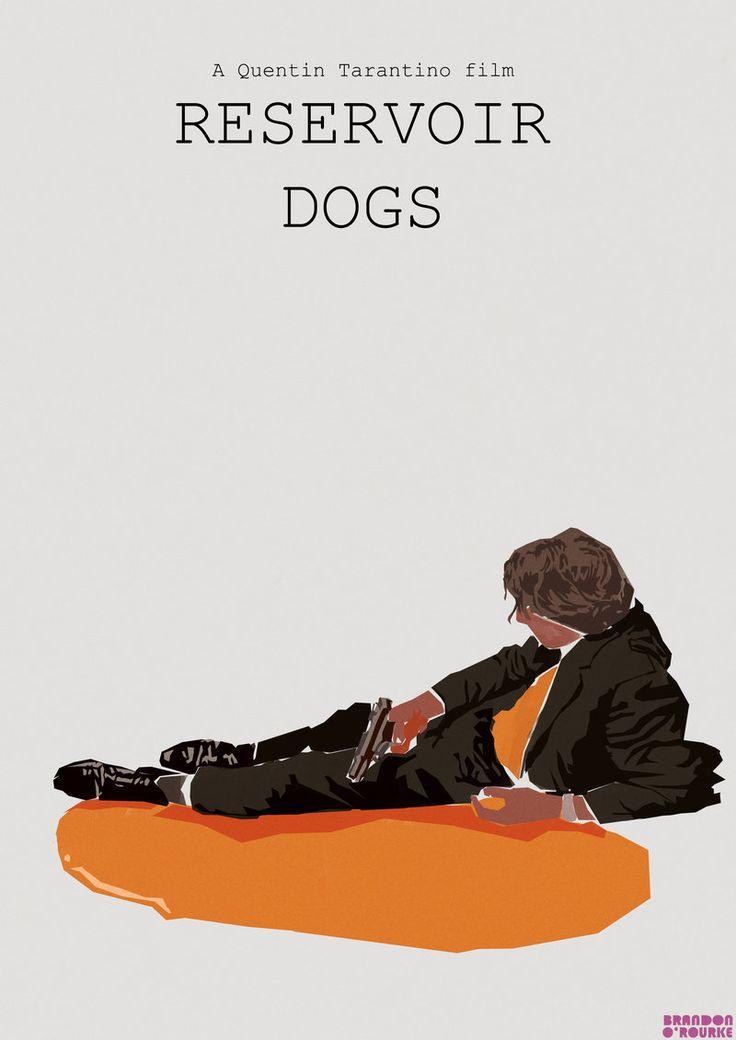 Poster alternativo de 'Reservoir Dogs'. Fuente: www.pinterest.com