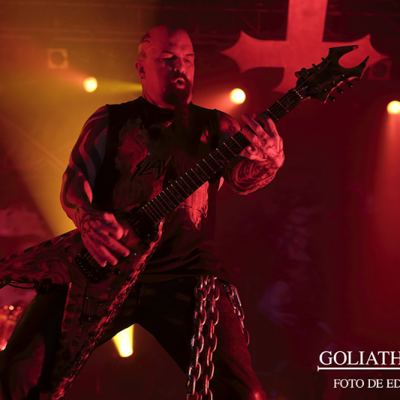 Kerry King de Slayer en Razzmatazz (Barcelona).