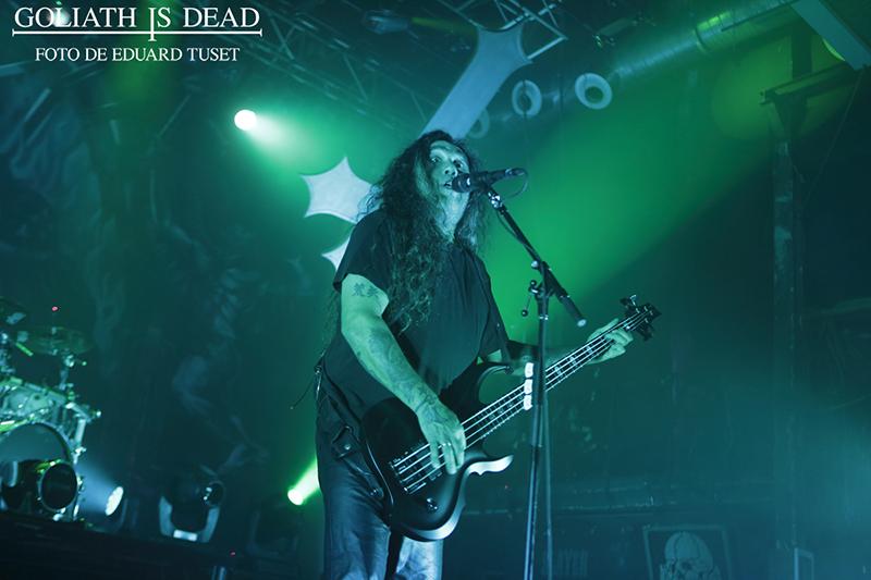 Tom Araya de Slayer en Razzmatazz (Barcelona).