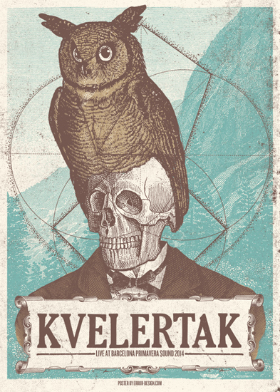 Kvelertak by Error Design