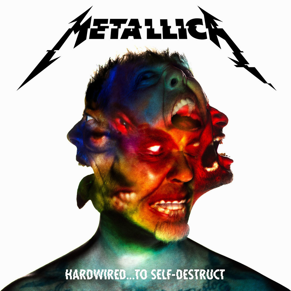 Metallica. 'Hardwired... To Self-Destruct'. Fuente: www.metallica.com