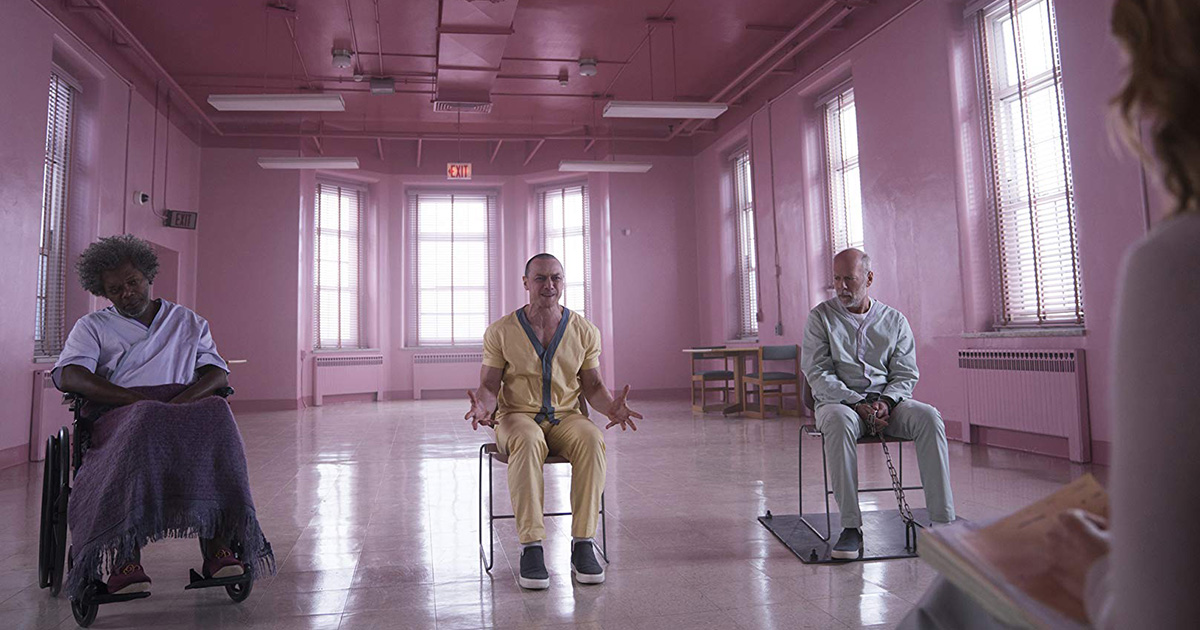 'Glass', de M. Night Shyamalan.