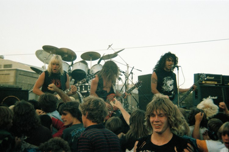 Slayer en Murder in the Front Row