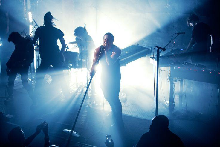 Nine Inch Nails en directo. Fuente: www.pinterest.com