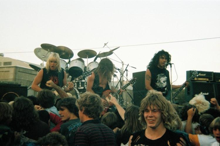 Slayer en Murder in the Front Row