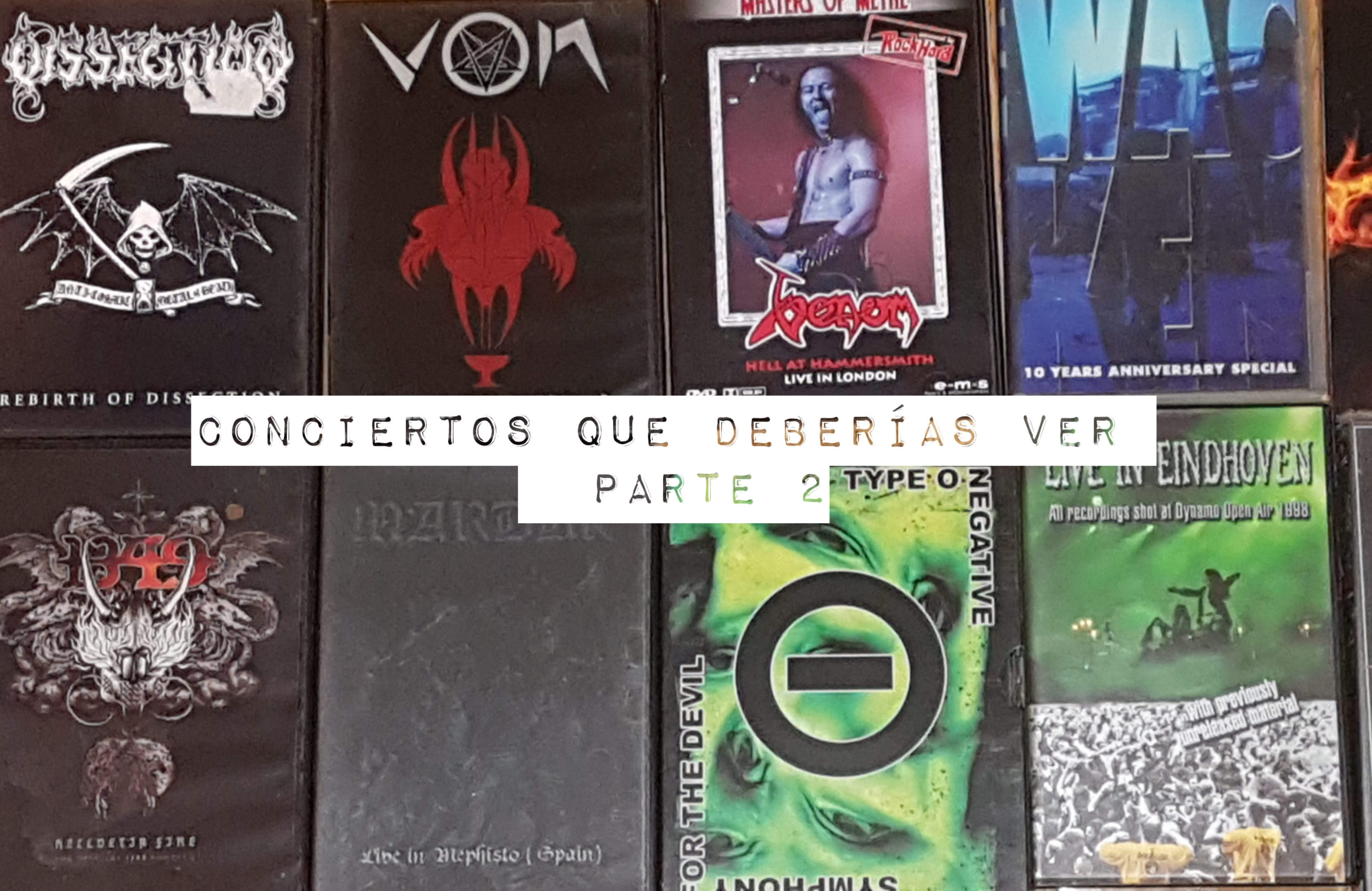 Foto DVD y videos de conciertos. Eduard Tuset